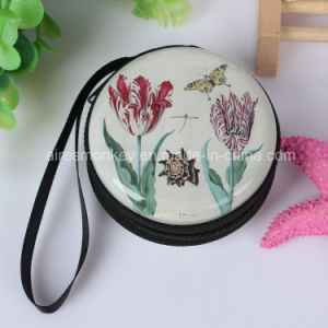 Custom Printed Cheap Giveaway Gift New 7cm Tin Coin Purse pictures & photos