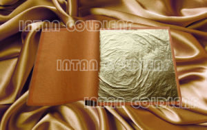 Gold Imitation Leaf, Pure Copper Foil in Booklet