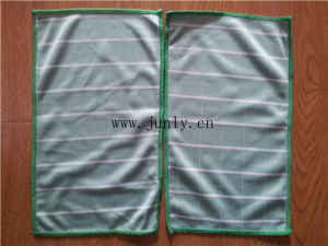 Stripe Bamboo Fiber Cleaning Cloth pictures & photos
