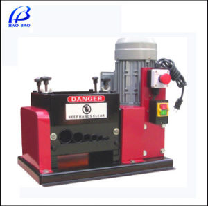 Copper Cable Stripping Machine Passing CE Certificate (Hw-005-2) pictures & photos