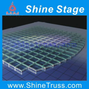 Transparent Stage Glass Stage Assemble Stage pictures & photos