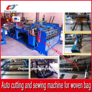 China Supplier Auto Cutting and Sewing Machine for PP Plastic Woven Bag Roll pictures & photos