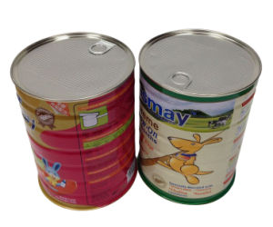 Metal Decorative Storage Tin Cans For Milk Powder Fv 042727