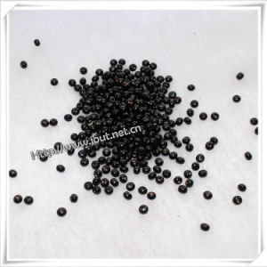 Black Small Round Wood Beads Wholesale (IO-wa008) pictures & photos