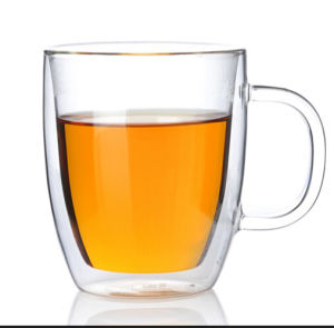 Beer Glass Mug High Borosilicate Double Wall Glass Cup pictures & photos
