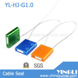 Pull Tight High Duty 1.0mm Security Cable Seal in Metal Material (YL-HJ-G1.0) pictures & photos