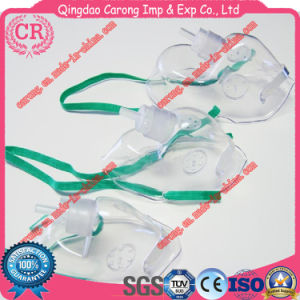 Sterile Medical Single Use Simple Oxygen Mask pictures & photos