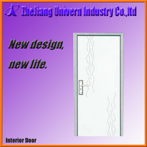 Wooden Interior Doors with PVC Coating pictures & photos