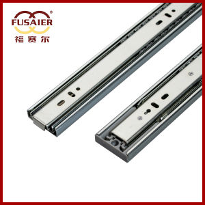 High Quality 45mm Push to Open Drawer Runners pictures & photos