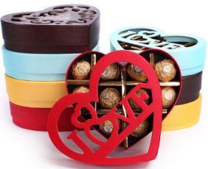 Exquisite Hollow Chocolate Gift Boxes pictures & photos