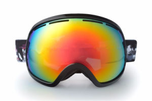 Big Size Anti-Fog Lens Ventilation System Sporting Ski Glasses pictures & photos