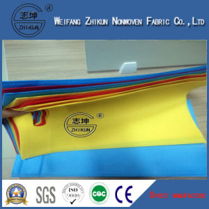 Recycled Spun-Bond Non Woven Fabric Used for Shopping Bags pictures & photos