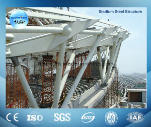 Painted Construction Steel Structure From Qingdao Sinostro pictures & photos