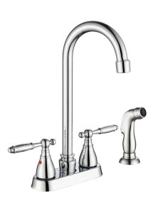Zf-Bf019p Old-School Style Two Handle Basin Faucet pictures & photos