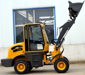 Ce Certificate Mini Wheel Loader 1 Ton Capacity pictures & photos