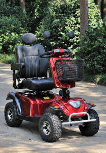 CE Heavy Load Big Wheels Big Power 1300W Mobility Scooter pictures & photos