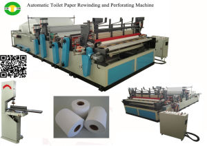 Automatic Small Toilet Paper Roll Making Machine pictures & photos