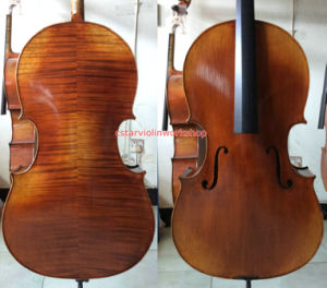 "Concert Cello! Montagnana 1739 ""Sleeping Beauty"" Model Cello! (Xmz-100)"