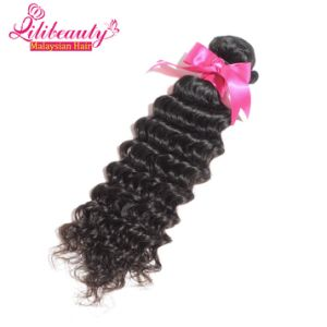 100% Malaysian Remy Human Hair Deep Wave Hair Bundles pictures & photos