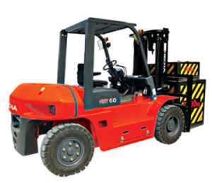 Hot on Sale 6 Ton Diesel Forklift Truck (FD60T-HWB3) pictures & photos