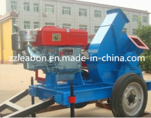Mobile Diesel Engine Wood Chipper Machine pictures & photos