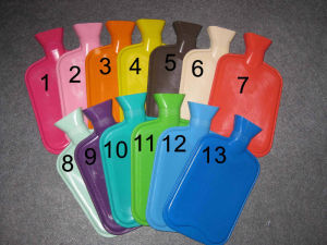 Rubber Hot Water Bottle 500ml, 750ml, 1000ml, 1500ml, 2000ml pictures & photos