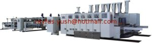 Automatic Flexo Printing Slotting Die-Cutting Folding Gluing Strapping Inline Machine pictures & photos