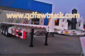 High Quality Container Flatbed Cargo Trailer pictures & photos