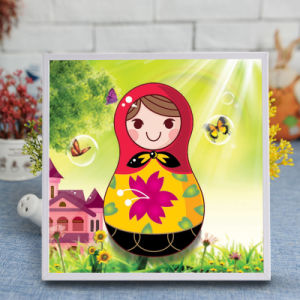 Factory Direct Wholesale New Children DIY Handcraft Sticker Promotion Kids Girl Boy Gift T-173 pictures & photos