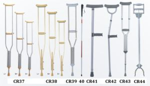 Disabled Walking Aluminum Elbow Crutch pictures & photos