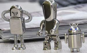 Metal Robot USB Flash Drive Disk pictures & photos