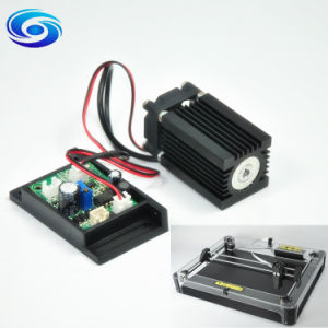 Power Blue Cutting Engraving 1.6W 1600MW 450nm Laser Diode Module pictures & photos