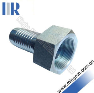 Hydraulic Metric Female Fitting for 2 Wire Hoses (20211)