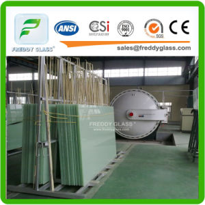 Clear Tempered/Laminated Glass with Different Color PVB pictures & photos