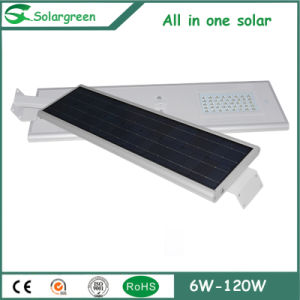 All-in-One 50W LED Solar Street Light for Bus Stops pictures & photos