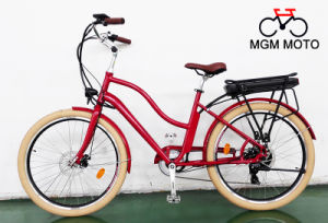 250W 500W Classical Fat Tire 26 Inch City Electric Bicycle pictures & photos