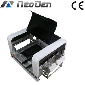SMT Desktop Pick and Place Machine, 48 Feeders, 2 Cameras, 4 Heads, Support 0201-5050 Bulb, Sop, Qfn, 1.5m LED Strip pictures & photos