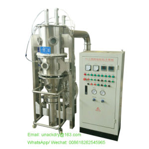 Small Laboratory Fluid Bed Granulator Gl-3 pictures & photos