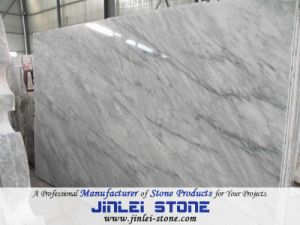 Natural Polished Cheap Chinese White Marble for Flooring Tile pictures & photos