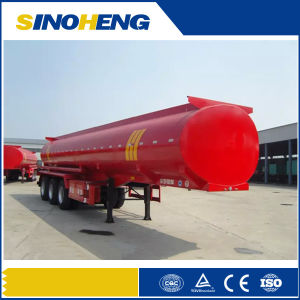 China Qualified Tri-Axle Low Price Fuel Tanker Transport Semi Trailer pictures & photos
