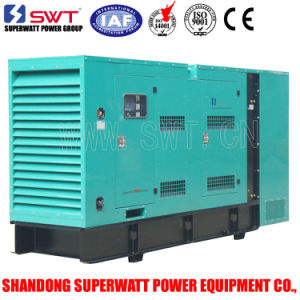 Superwatt Soundproof Diesel Generator Sets by Cummins ISO Certificated 60Hz pictures & photos