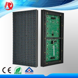 Outdoor Blue Tube Chip Color P10 LED Screen Scrolling Text Display P10 LED Display Module pictures & photos