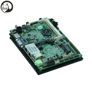 Fanless 3.5 Inch Embedded Industrial Motherboard Supports Intel N2600 Dual-Core CPU with 6*USB/6*COM/VGA/1*Sataii/1*Msata pictures & photos