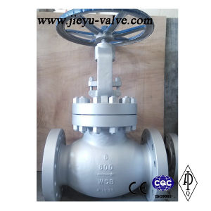 "Class 600lb 6"" Flange RF/Rtj Globe Valve pictures & photos"