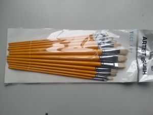 Bristle Hair Artist Brush/Paint Brush (18 PCS) pictures & photos