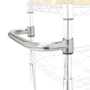 Handrail (wire shelving accessory) (YG-01MLN)