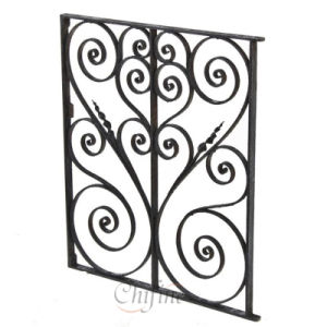 Customized High Quality Cast Iron Doors pictures & photos
