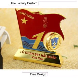 Conmmemorative Plate of Office of The Red Flag Metal Furnishing Articles pictures & photos