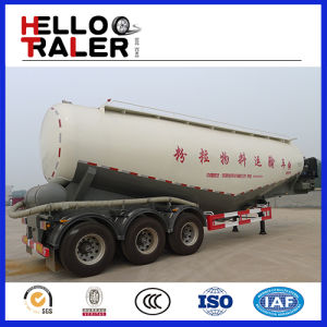 3 Axles 40cbm Bulk Cement Tank Trailer for Sale pictures & photos