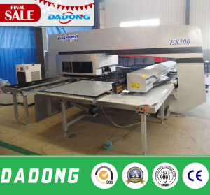 High Efficiency CNC Mechanical Turret Punch Press/CNC Punching Machine Es300 pictures & photos